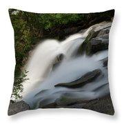 Top Of The Washington Cascades Throw Pillow