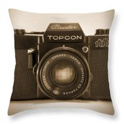 Topcon Auto 100 Throw Pillow