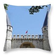 Topkapi Palace Museum 1524 Throw Pillow