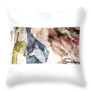 Topographical 2 Throw Pillow