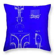 Topophone Patent Drawing  Throw Pillow