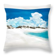 Topsail Hill Throw Pillow