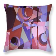 Topsy Turvy II Throw Pillow