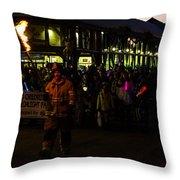 Torchlight Parade Throw Pillow