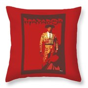 Torero Throw Pillow