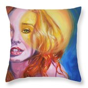 Tori Amos Inner Sun Throw Pillow