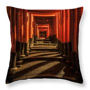 Tori Gates Throw Pillow