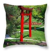 Torii Gate- Horizontal Throw Pillow