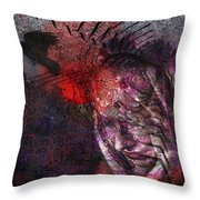 Torment Throw Pillow by Mimulux patricia no No