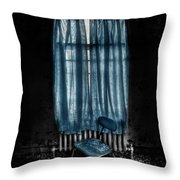 Tormented In Grace Throw Pillow