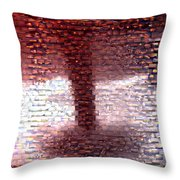 Tornado From Sunsets Mosaic Throw Pillow