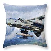 Tornado Gr4 - 2 Throw Pillow