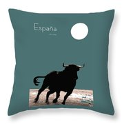 Toro Bravo  Throw Pillow