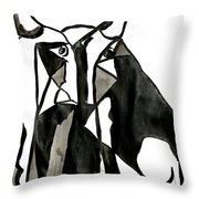 Toro Throw Pillow by Jorge Berlato