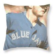 Toronto Blue Jays Josh Donaldson 4 Throw Pillow