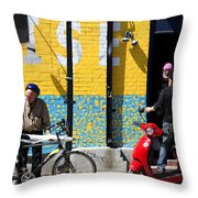 Toronto Characters Throw Pillow