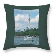 Toronto Island  Throw Pillow