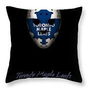 Toronto Maple Leafs Established Throw Pillow