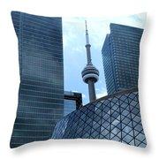 Toronto Soaring Throw Pillow