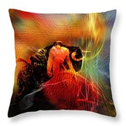 Toroscape 19 Throw Pillow