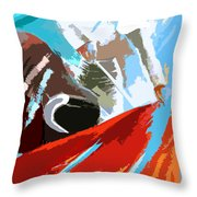Toroscape 32 Throw Pillow