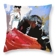 Toroscape 36 Throw Pillow