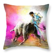Toroscape 44 Throw Pillow