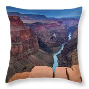 Toroweap Panorama Throw Pillow