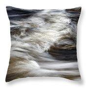 Water Flow 2 Throw Pillow