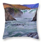 Torres Del Paine 001 Throw Pillow