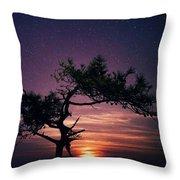 Torrey Pines Twinkle Twinkle Throw Pillow