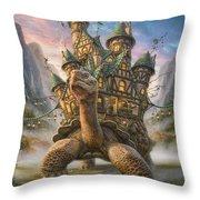 Tortoise House Throw Pillow