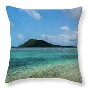 Tortola Waters Throw Pillow