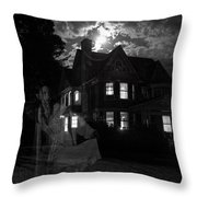 Tortured Souls Throw Pillow