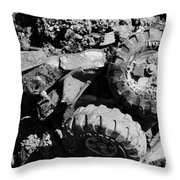 Tossed Toy Throw Pillow