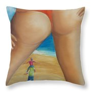 Total Happiness Throw Pillow