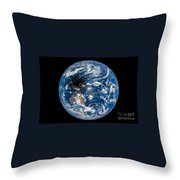 Total Solar Eclipse Casting Shadow Throw Pillow