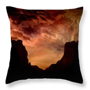 Total Surrender Throw Pillow