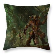 Total War Warhammer Throw Pillow