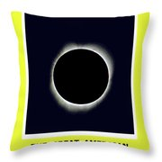 Totality II Throw Pillow