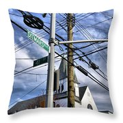 Totally Wired Throw Pillow
