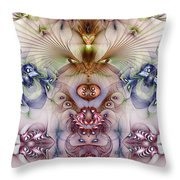 Totemic Isotropy Throw Pillow