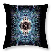 Totems Of The Vision Quests #1526 Throw Pillow