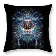 Totems Of The Vision Quests #1529 Throw Pillow