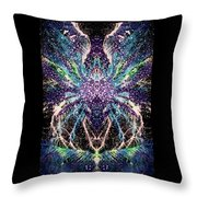 Totems Of The Vision Quests #1530 Throw Pillow
