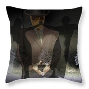 Totentanz IIi Throw Pillow