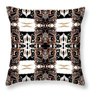 Totheme Black And Brown Throw Pillow
