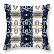 Totheme Blue Throw Pillow