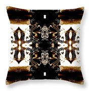 Totheme Brown Throw Pillow