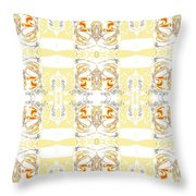 Totheme Yellow Throw Pillow